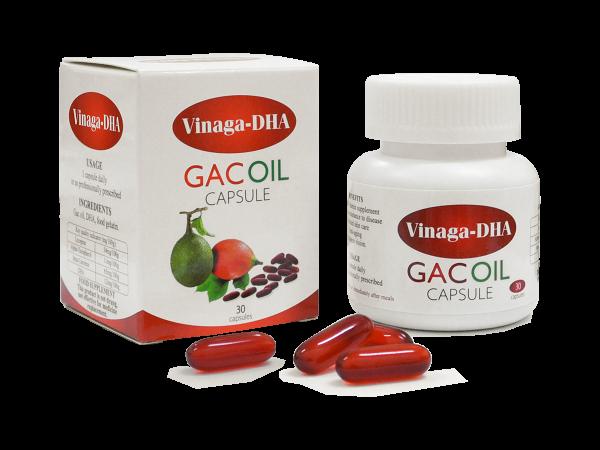 Dầu gấc xuất khẩu VINAGA GACOIL