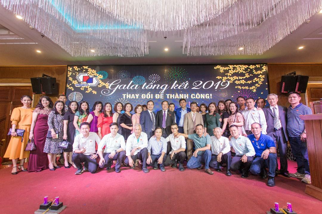 Lắng đọng cảm xúc trong đêm tiệc Gala tổng kết 2019 của Dapharco