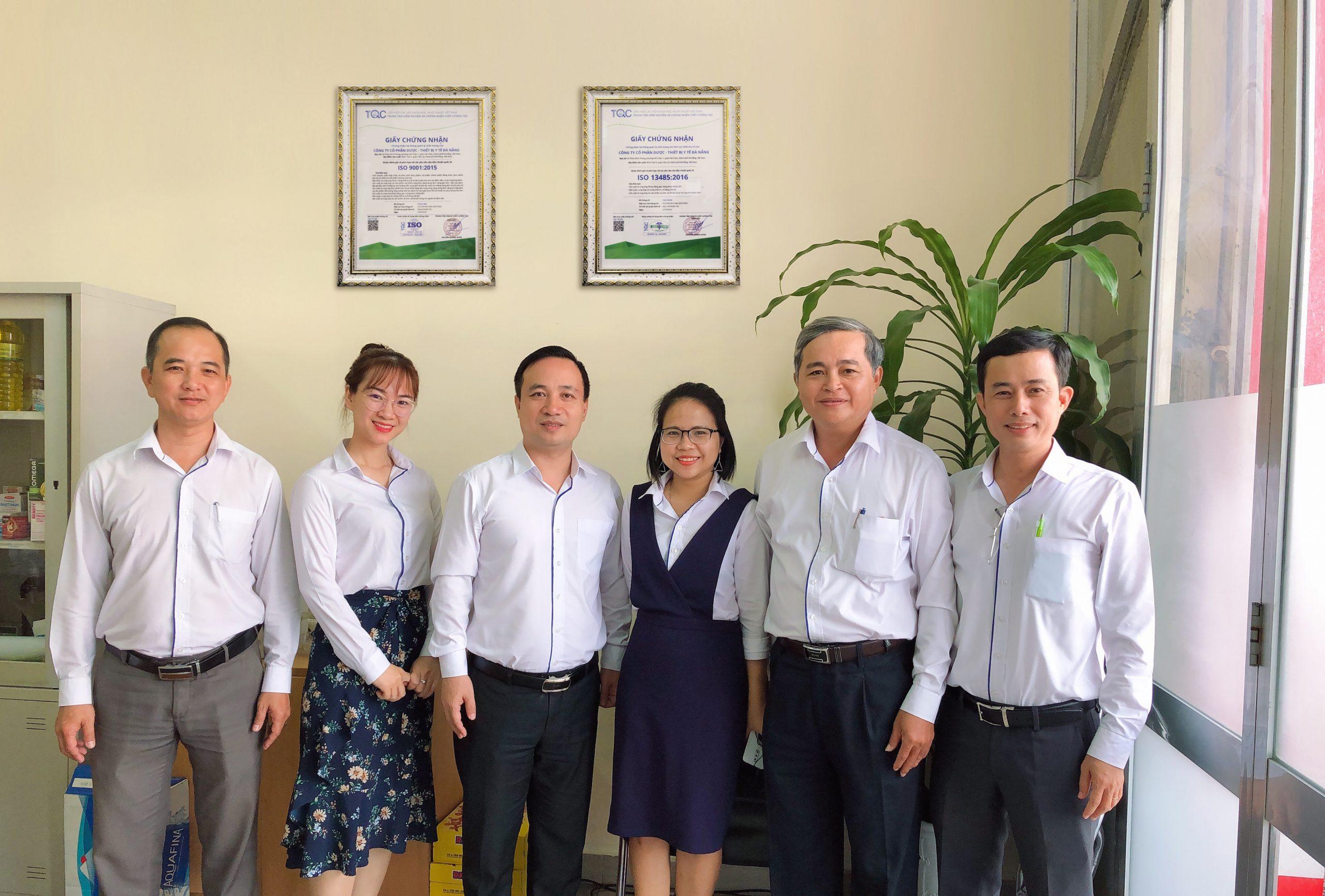 Dapharco vinh dự đạt 2 chứng nhận về Hệ thống quản lý chất lượng tiêu chuẩn ISO