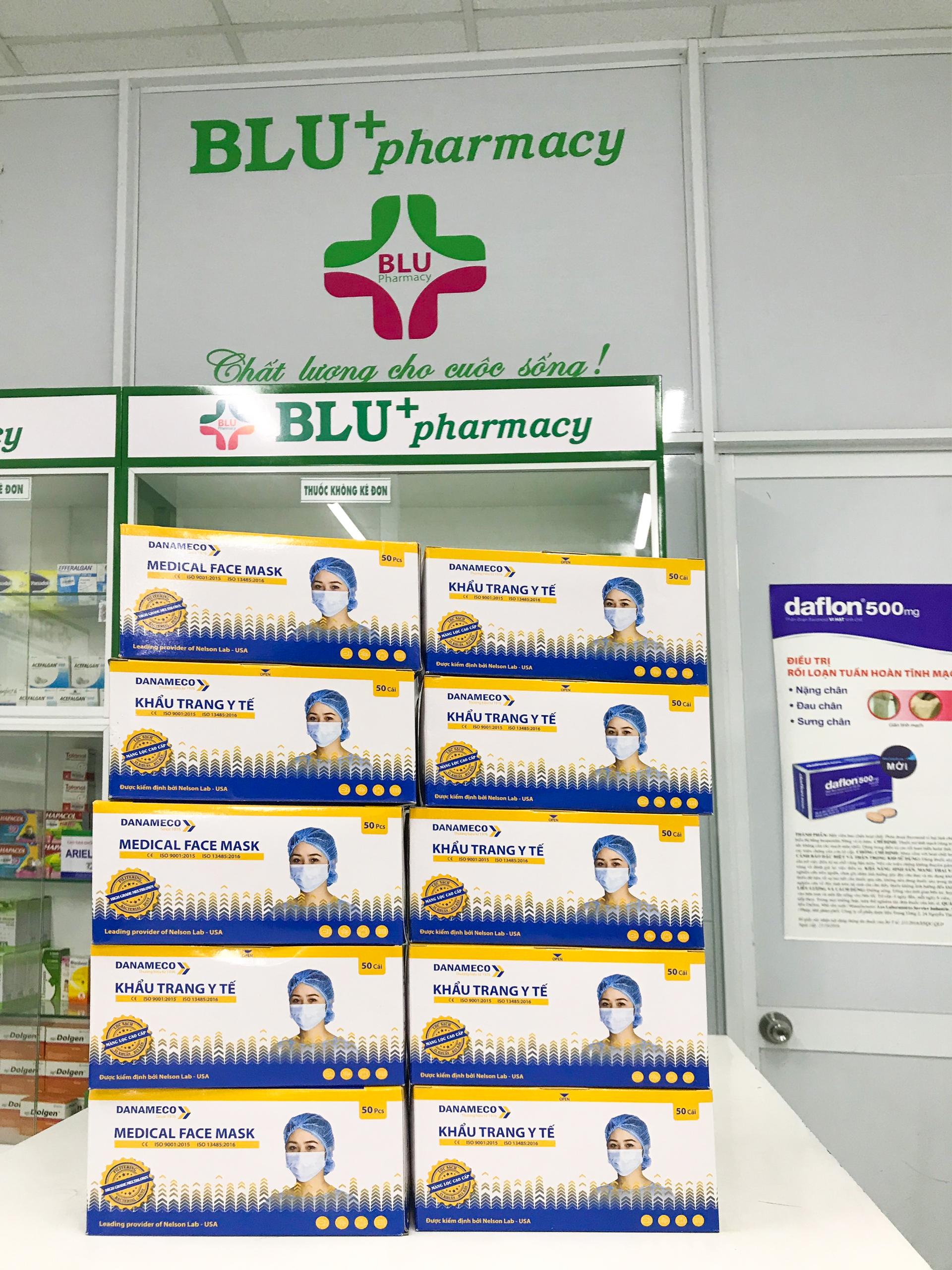 """Hệ thống Nhà thuốc DapharcoBLU nói """"Không!"""" với  tăng giá bán khẩu trang"""