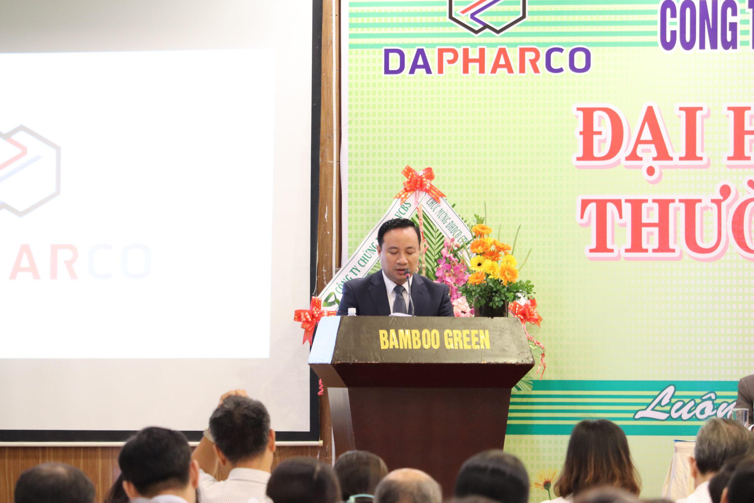 Dapharco tổ chức Đại hội Cổ đông thường niên năm 2020