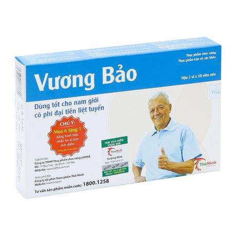 TPCN hỗ trợ điều trị phì đại tiền liệt tuyến Vương Bảo