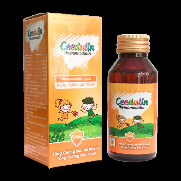 CEEDULIN (Chai/100ml) – Siro tăng cường sức đề kháng cho trẻ .