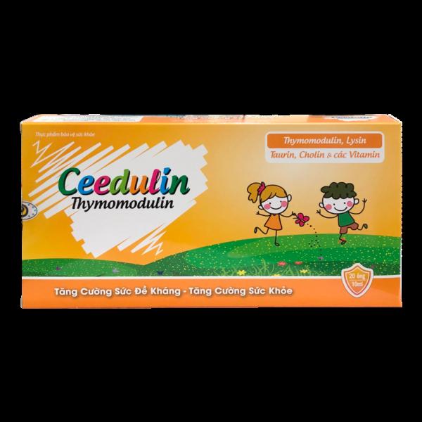 CEEDULIN (hộp/20 ống) – Siro tăng cường sức đề kháng cho trẻ