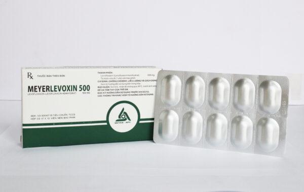 Meyerlevoxin 500mg (Hộp/ 30 viên)