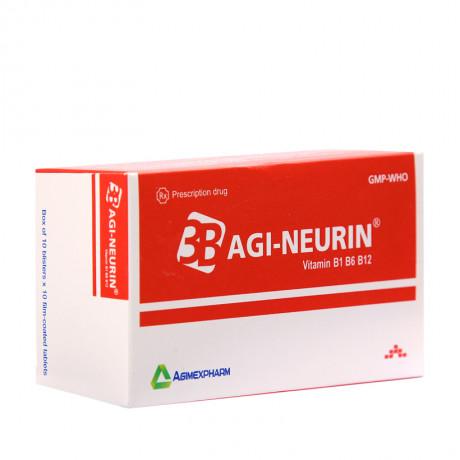 Agi-Neurin (Vitamin B1, B6, B12) – hộp/100 viên