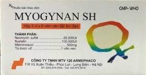 Myogynan SH (Hộp/12 viên)
