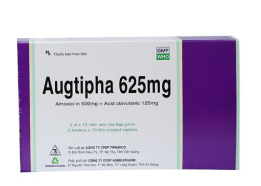 Augtipha 625mg (Hộp/20 viên)