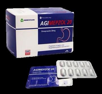 Agimepzol 20 (hộp/100 viên)